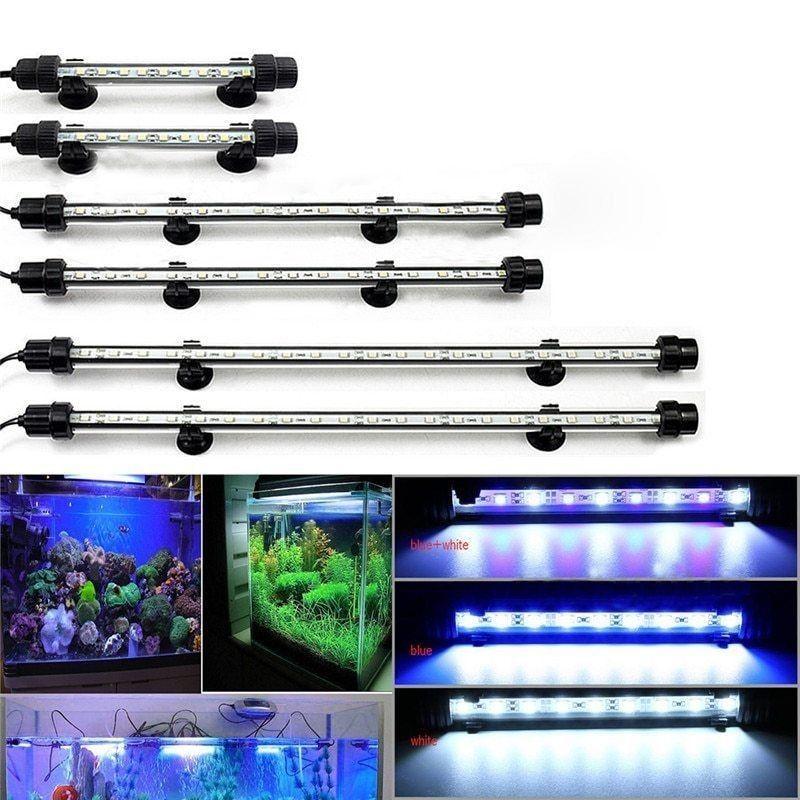 LAMPARA SUMERGIBLE TRICOLOR 2W 175MM LED PARA ACUARIOS