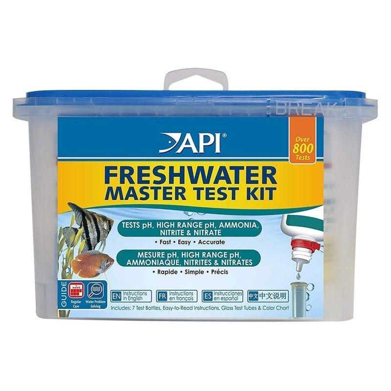 Test Multiparametros Para Acuarios Api (ph,nh3,no2,no3)