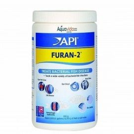 FURAN 2 API PRESENTACION DE 1 GRAMO MEDICAMENTO PARA PECES