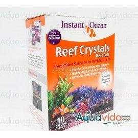 SAL REEF CRYSTAL 38 LITROS (10 GALONES) INSTANT OCEAN PARA ARRECIFE