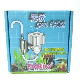 DIFUSOR PROFESIONAL DE CO2 PARA ACUARIOS PLANTADOS