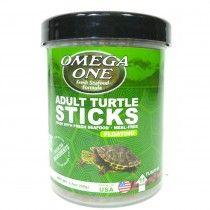 ADULT TURTLE STICKS 99GR OMEGA ONE PARA TORTUGAS ADULTAS