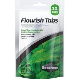 NUTRIENTES PARA PLANTAS DE ACUARIO FLOURISH TABS 10 TABLETAS SEACHEM
