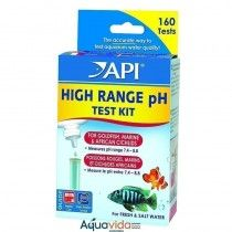 TEST DE PH ALTO RANGO PARA AGUA DULCE Y SALADA 160 TESTS API
