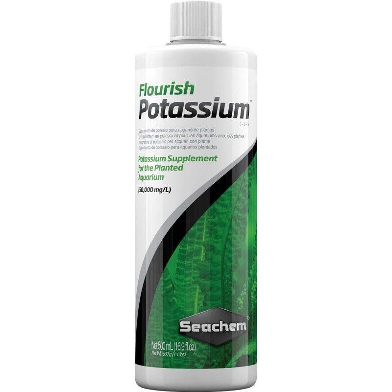 Fertilizante Para Acuarios Plantados Flourish Potassium 500ml Seachem