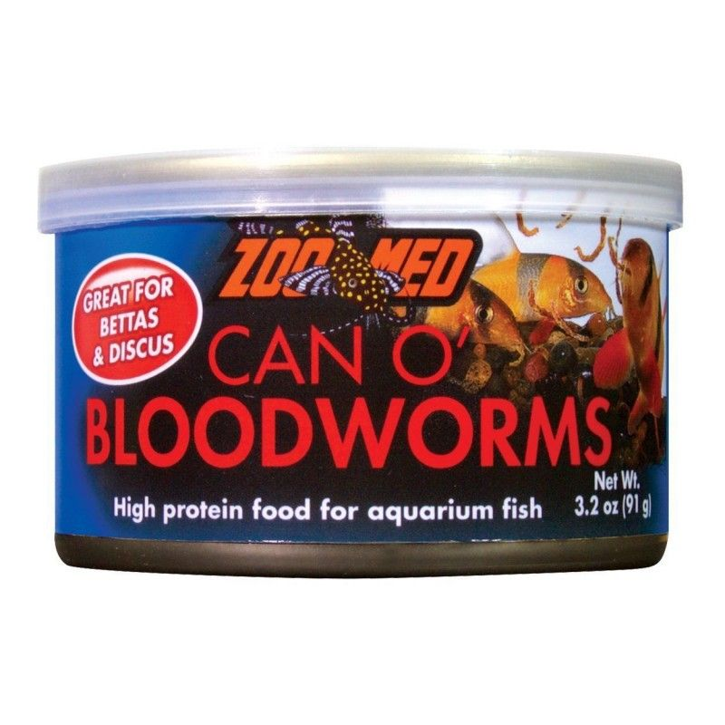 Bloodworms o can Zoo Med 91gr