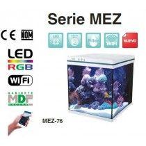 ACUARIO BOYU SERIE MEZ56 56LTCONTROL WIFI (SIN GABINETE) INCLUYE FILTRACION Y LUCES LED