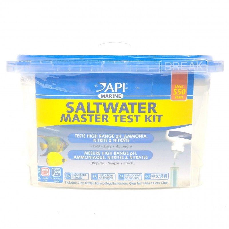 Test De Parametros Acuario Agua Salada SALWATER MASTER TEST KIT API