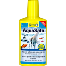 ACONDICIONADOR PARA ACUARIOS AQUASAFE PLUS TETRA 250ML  (8,45OZ)