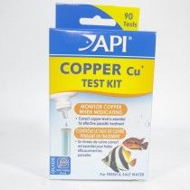 AQUARIUM PHARM SALT/FRESH TEST KIT DE COBRE