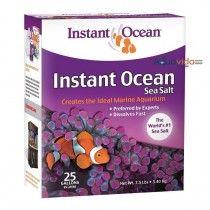 sal Instant Ocean 25 galones para Acuarios Marinos