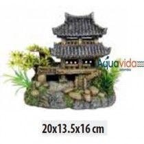 Pagoda 20x13.5x16cm